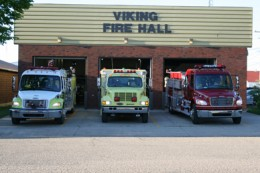 Viking fire hall